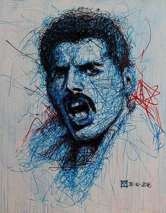 Cuadro Freddie Mercury