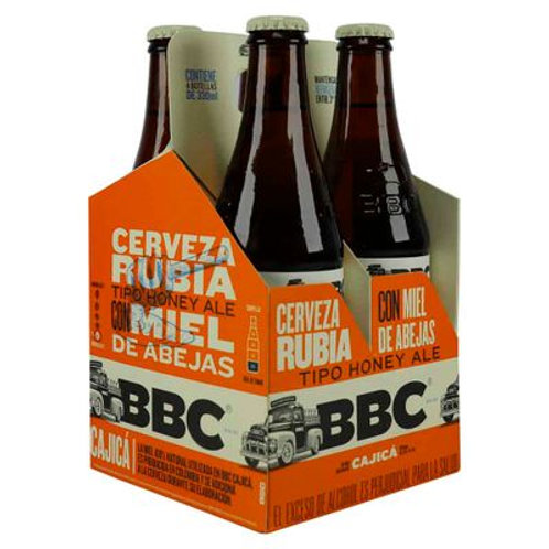 Cerveza BBC Cajicá 4 Pack