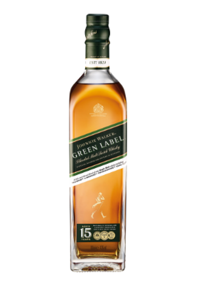 Whisky Jhonnie Walker Green
