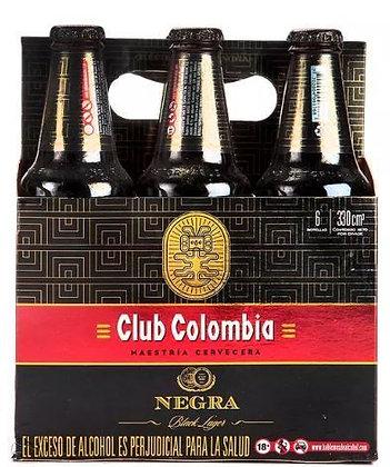 Cerveza Club Colombia Negra  6 pack