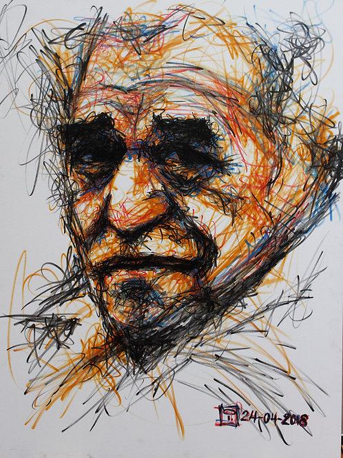 Cuadro Gabriel García Márquez