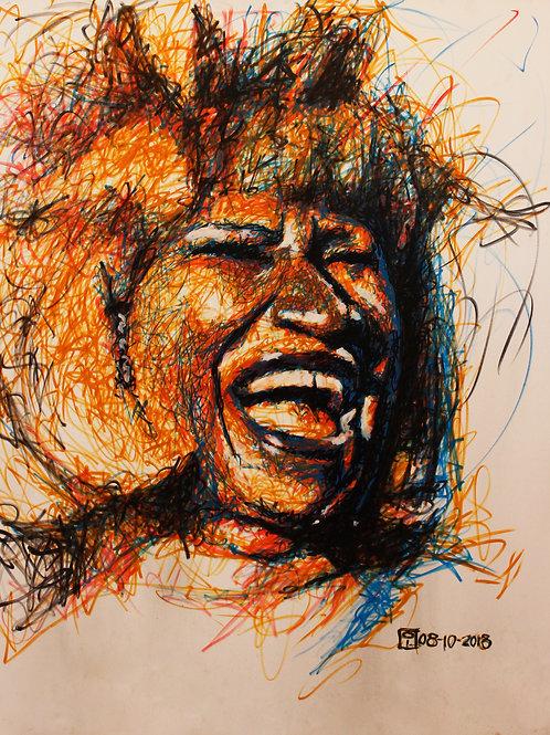 Cuadro Celia Cruz