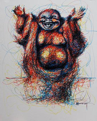 Cuadro Buda