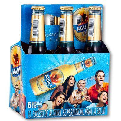 Cerveza Aguila Light  6 pack