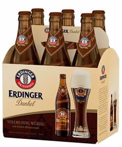 Cerveza Erdinger Dunkel 6 pack