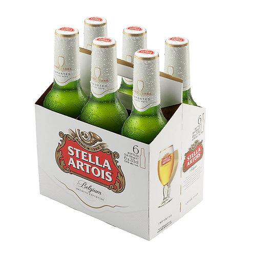 Cerveza Stella Artois  6 pack