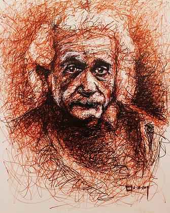 Cuadro Albert Einstein