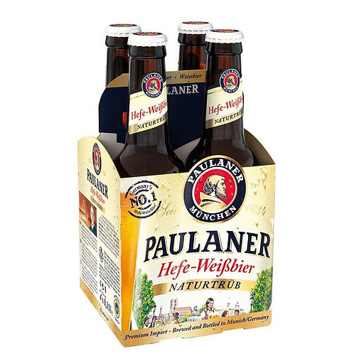 Cerveza Paulaner Naturtub 4 pack