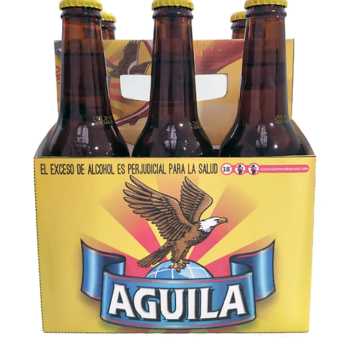 Cerveza Aguila  6 pack