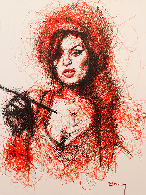 Cuadro Amy Winehouse