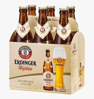 Cerveza Erdinger Weissbier 6 pack