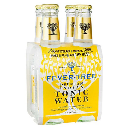 Tonica Fever Tree Indian 4 pack
