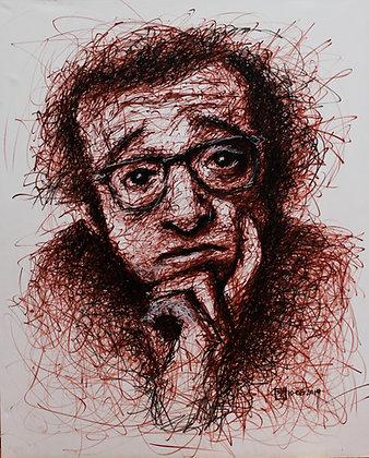 Cuadro Woody Allen