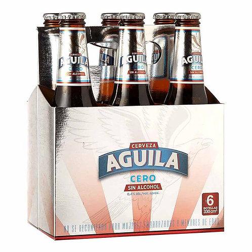 Cerveza Aguila Cero  6 pack