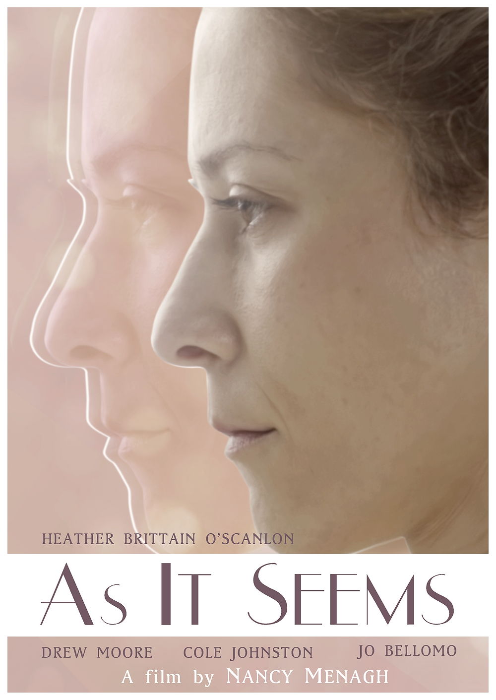 """""""As It Seems"""" short film's official poster."""