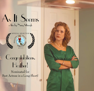 Heather Brittain O'Scanlon Nominated for Best Actress from Hang Onto Your Shorts Film Festival!