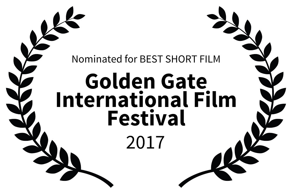 """As It Seems"" laurel stating its nomination for Best Short Film from the Golden Gate International Film Festival."