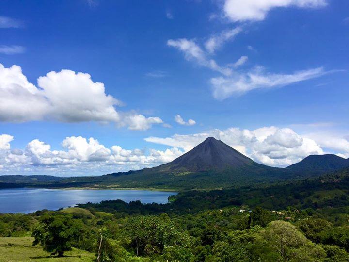 Arenal and Lake