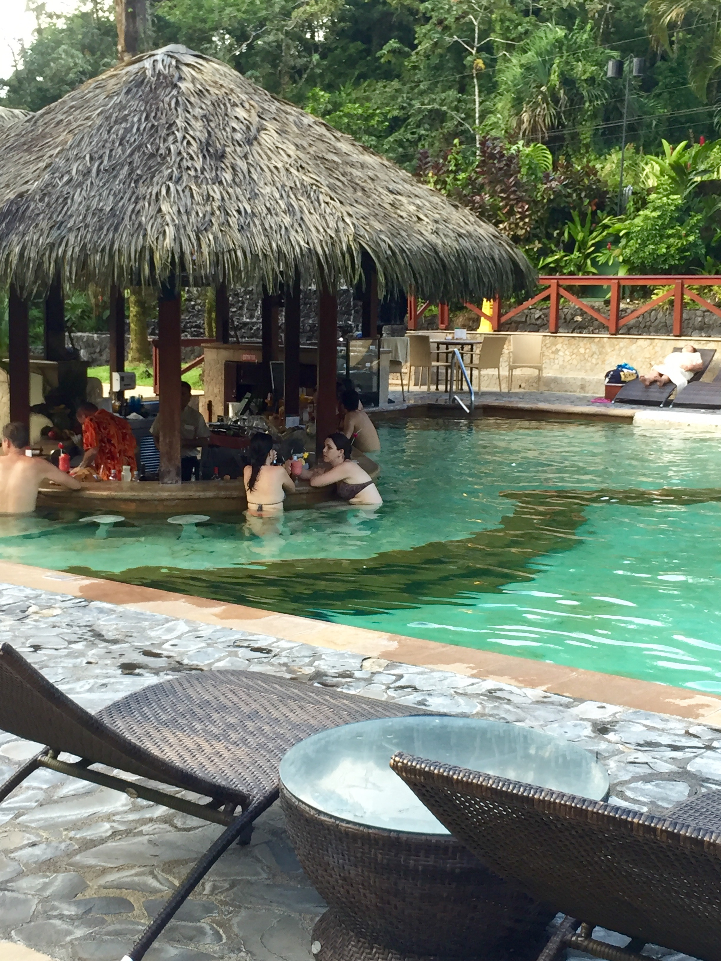 pools at Tabacon