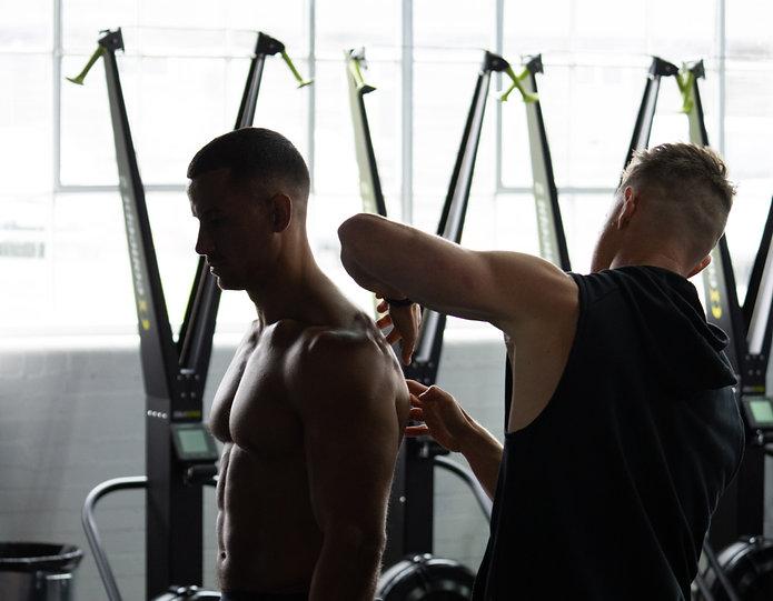 Shoulder Assessment by Tim Stevenson with Ollie Marchon