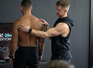 Shoulder assessment with Tim Stevenson