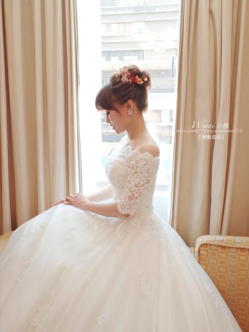 高盤髮系列新娘造型
