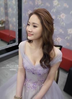 優雅大波浪-新娘造型