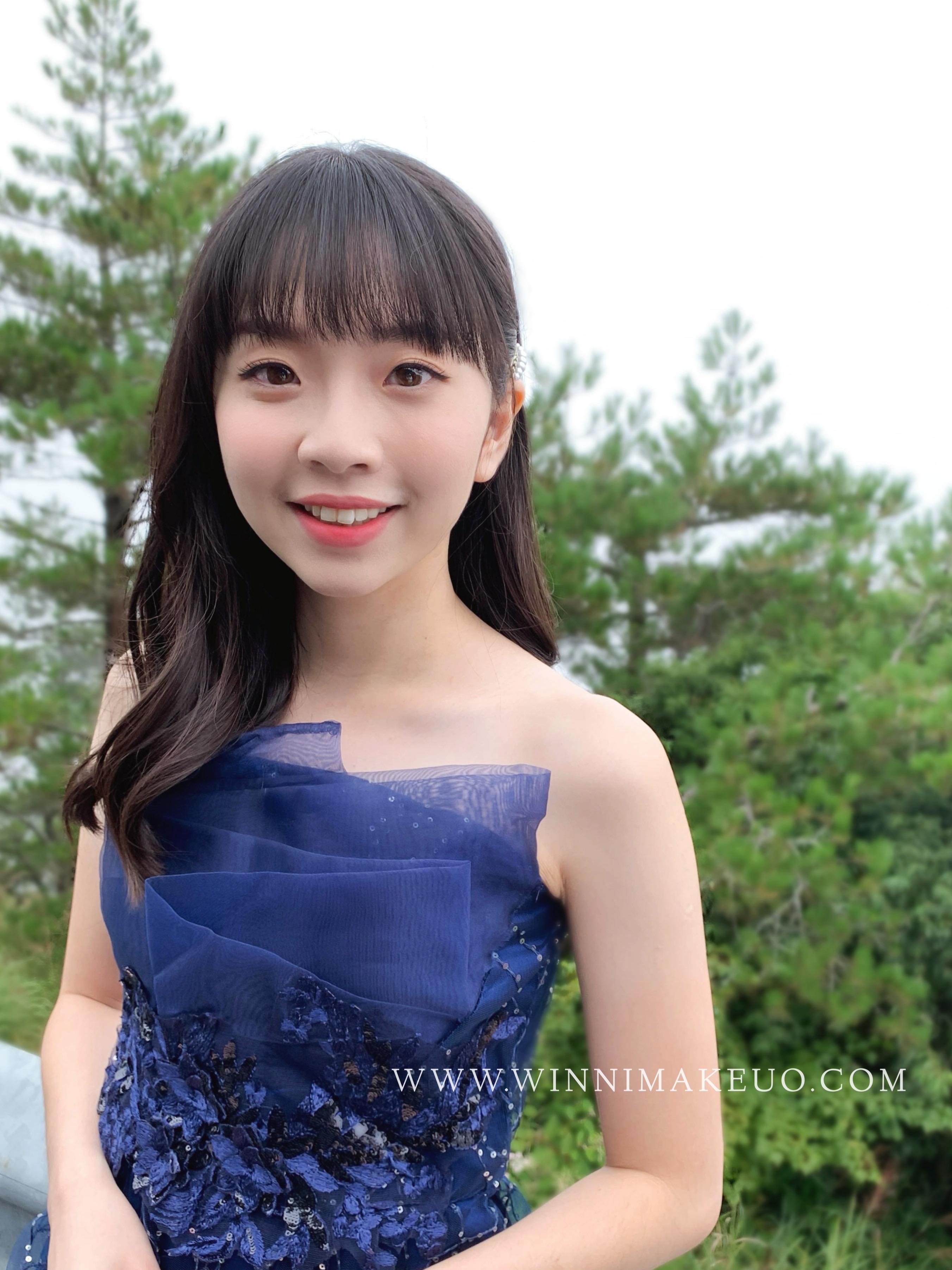 #放髮造型#新娘造型 #韓系新娘造型