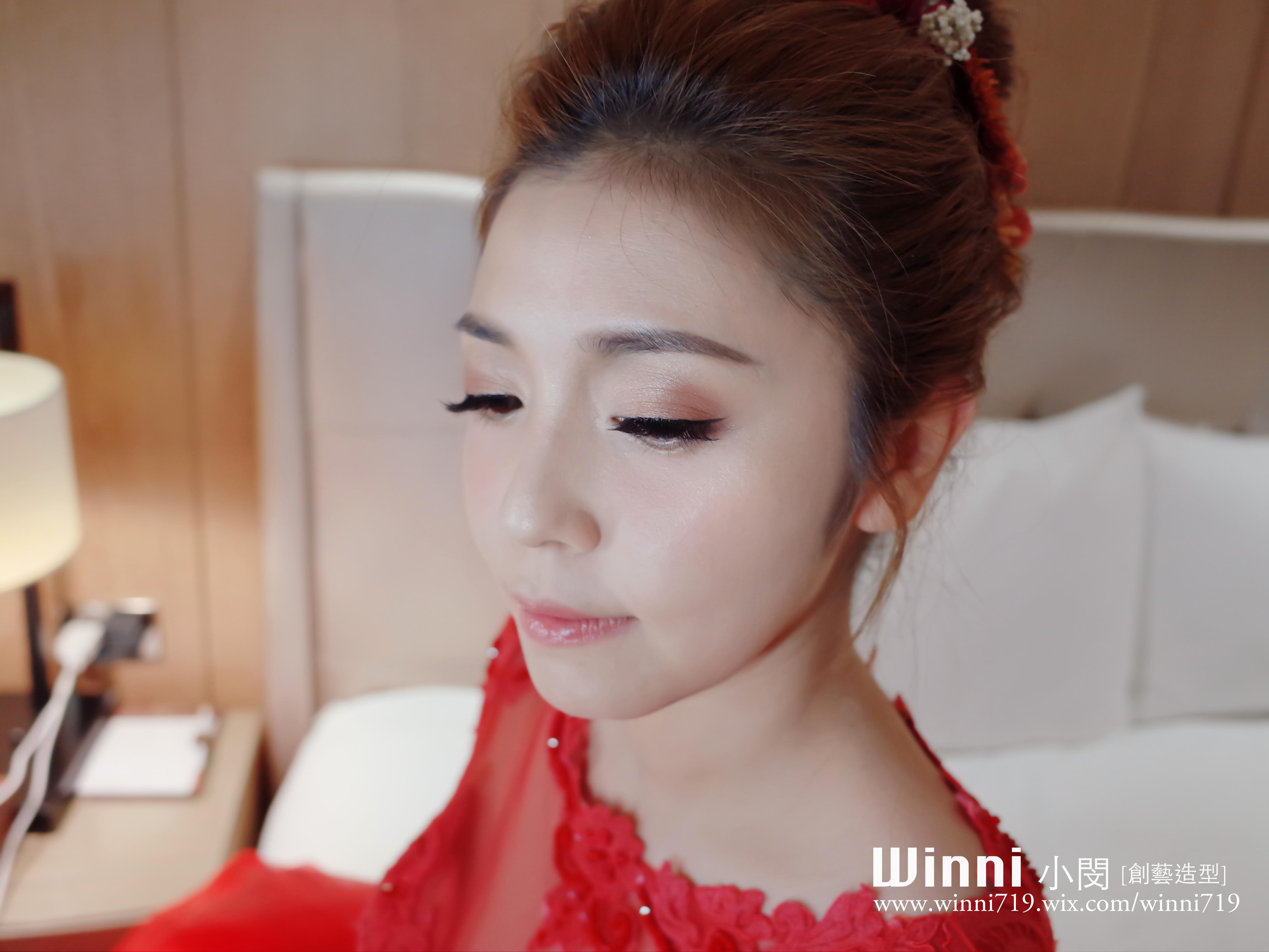 氣質妝感-晚禮服造型