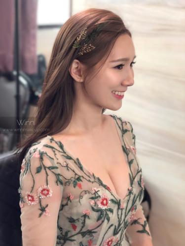 #韓系新娘 #平眉 #新娘造型