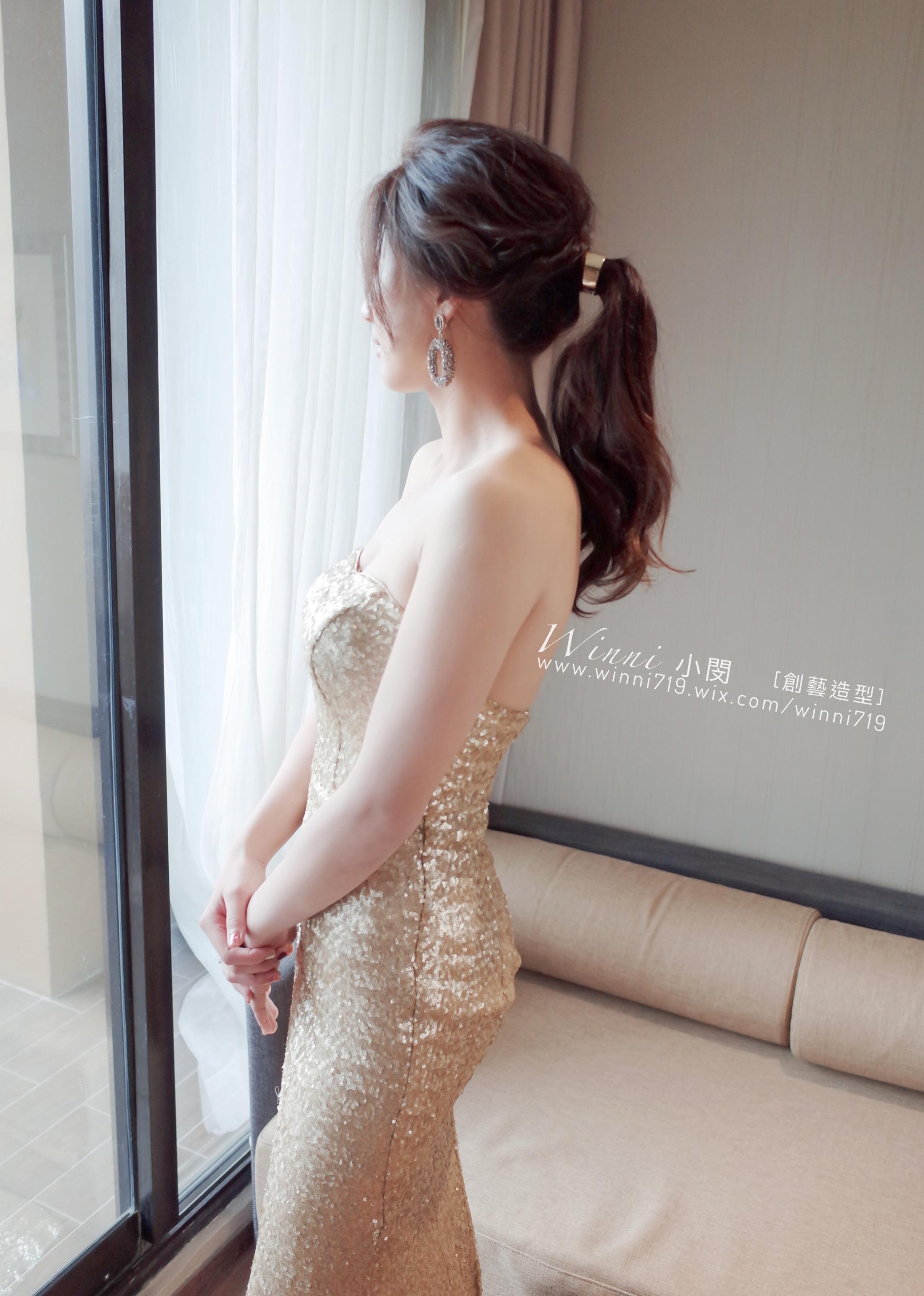 IMG_45質感低馬尾-新娘造型28