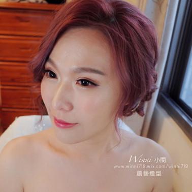 質感妝容-新娘造型