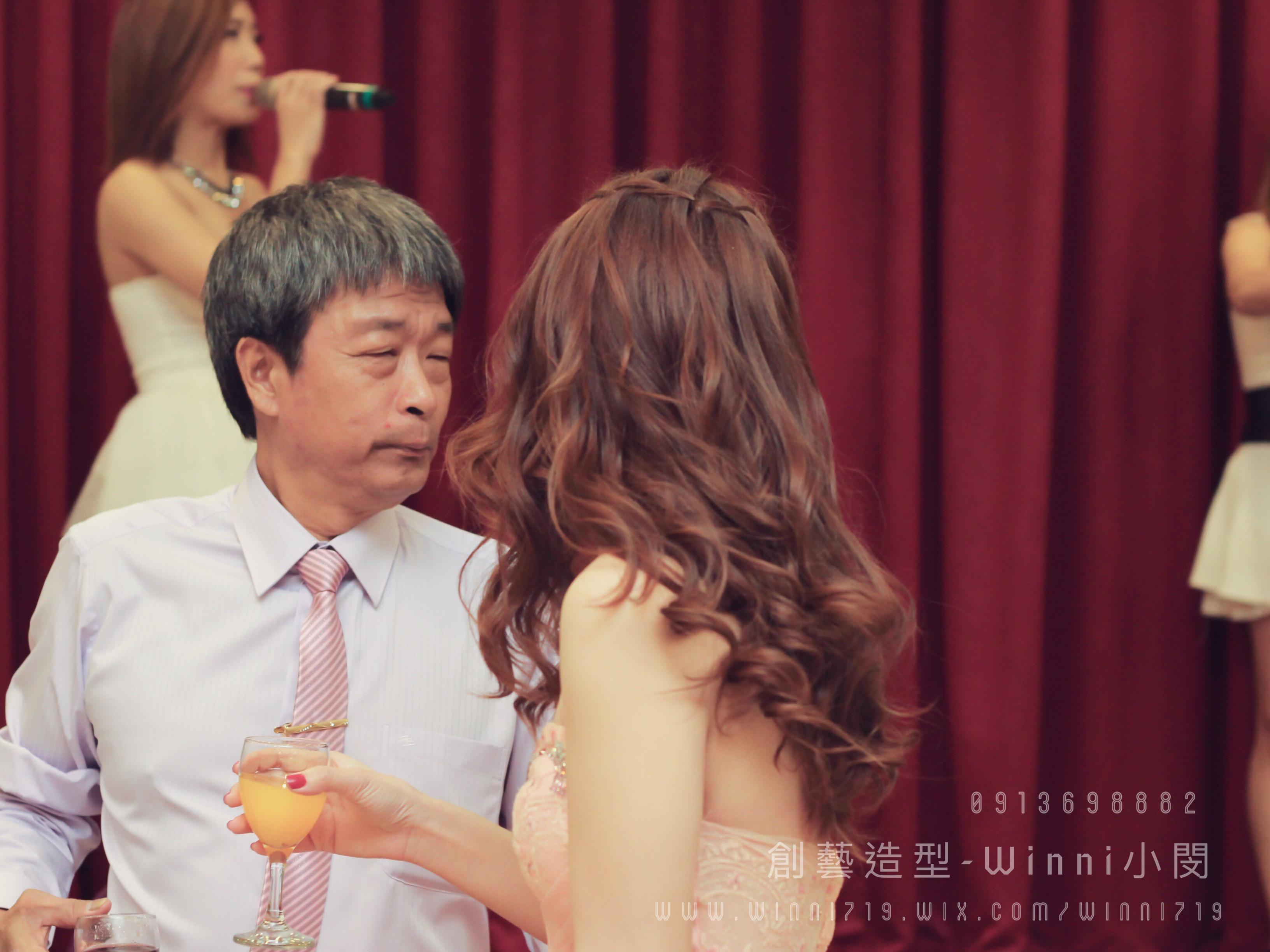 大波浪-新娘造型