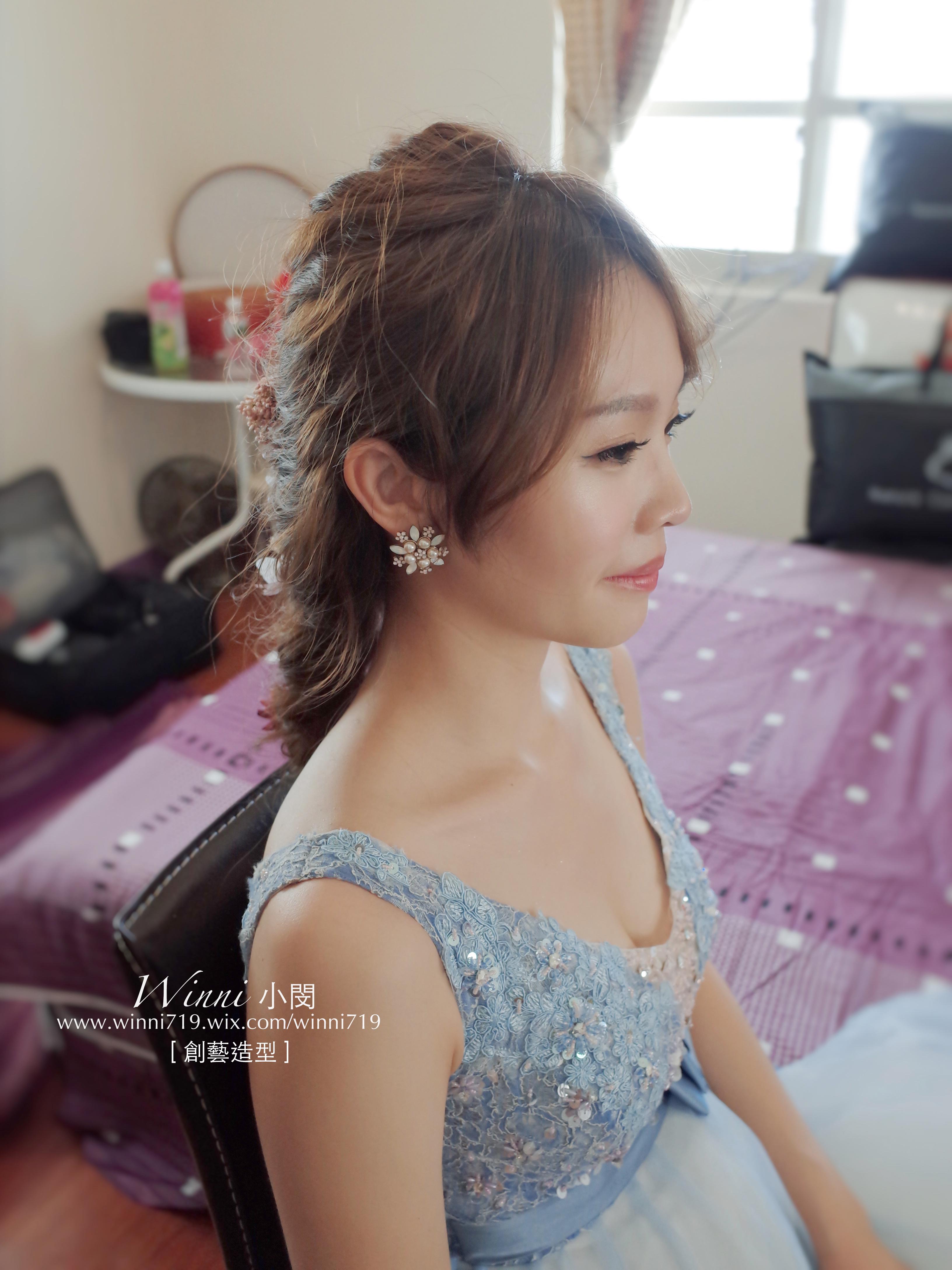 編髮新娘造型