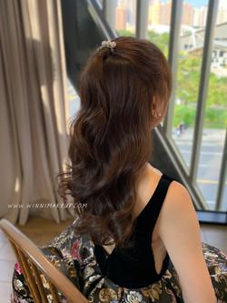 #放髮造型 #新娘造型 #質感新娘造型 #韓系公主頭