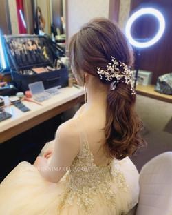 247BD4E5#低馬尾 #新娘造型 #韓系新娘造型-D08D-4D75-868D-1D01FA8A0B61