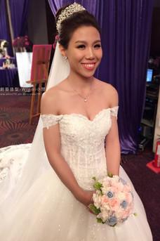 白紗公主皇冠-白沙新娘造型