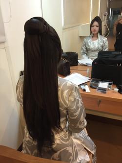 古美人妝髮造型完成