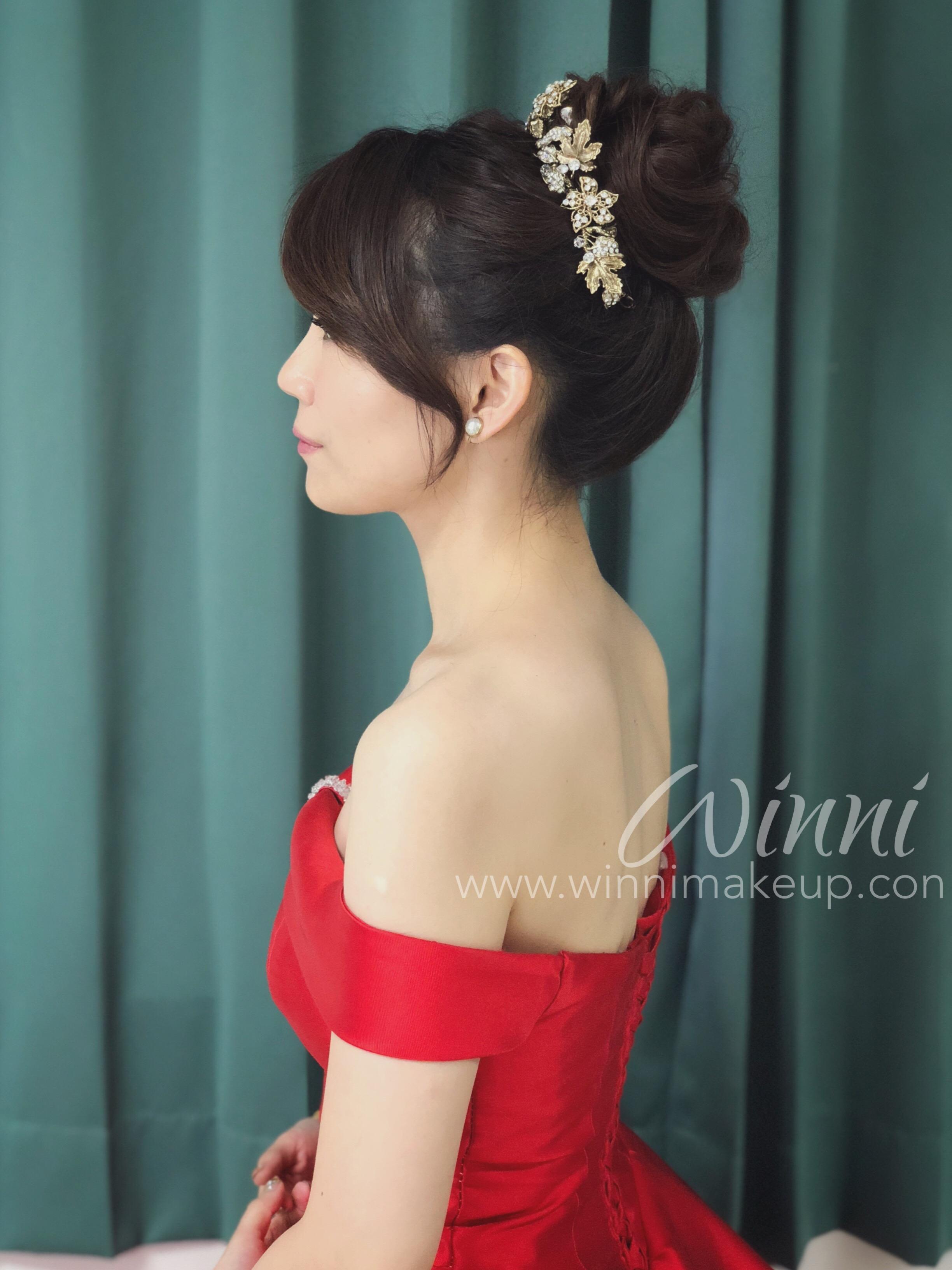 IM晚禮服造型/晚禮服高盤髮造型G_9481
