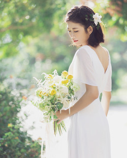 #韓系髮型 #短髮造型 #短髮新娘 #短髮女孩