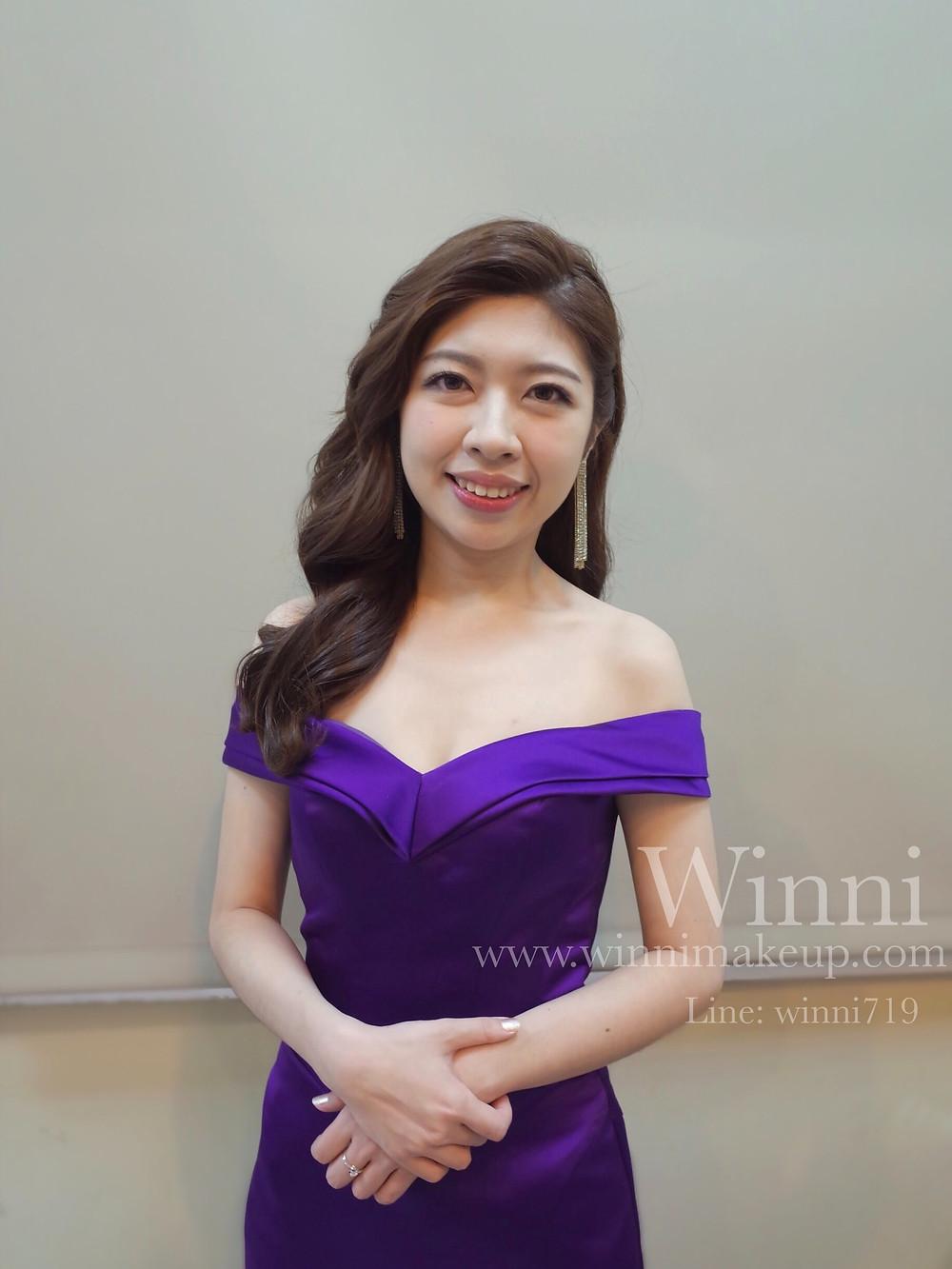 時尚名媛長髮大波浪/新娘造型/新娘長髮造型