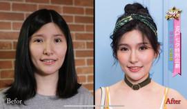 智冠音樂科技/素人改造女生妝髮造型
