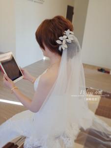 優雅低盤髮-新娘造型