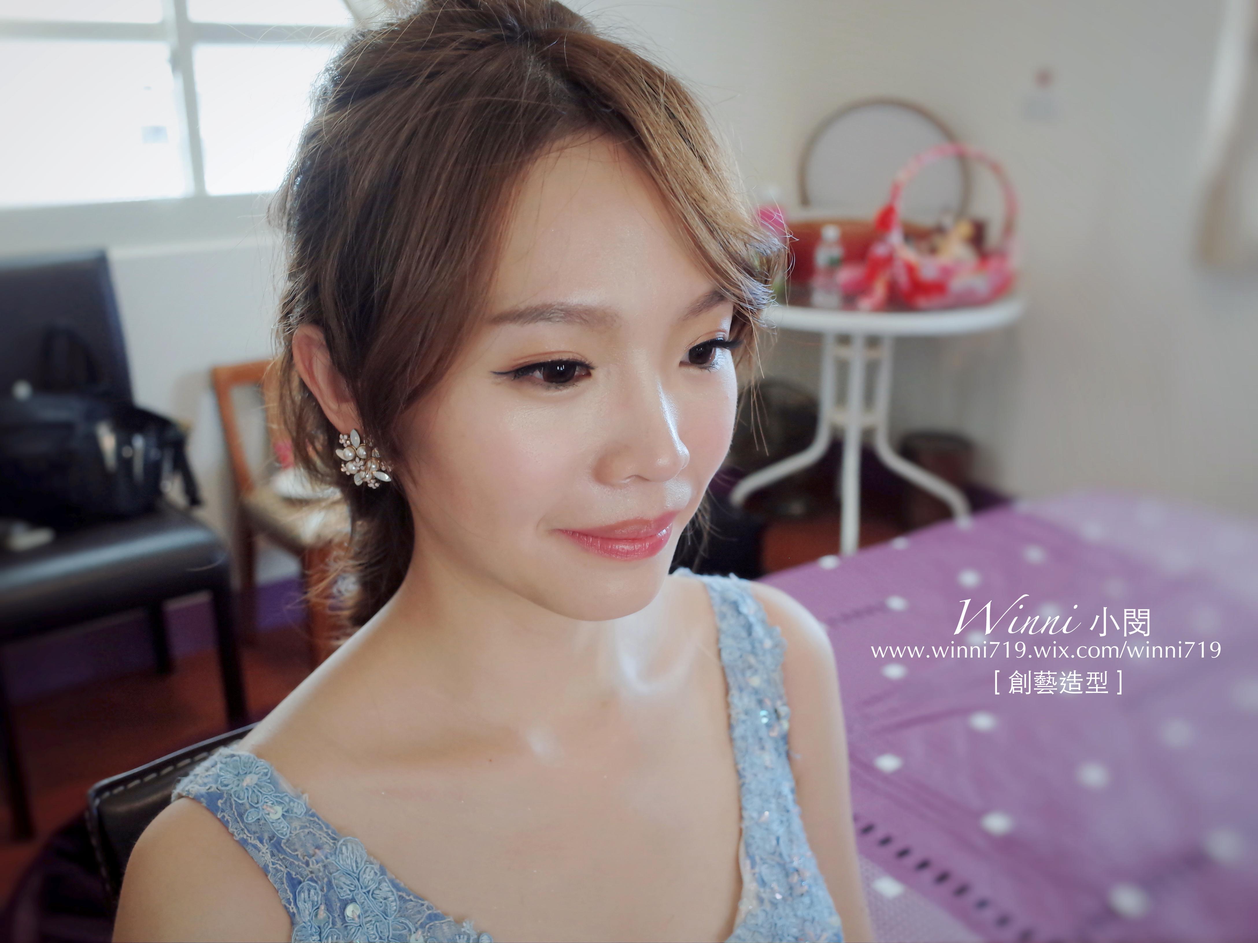 乾淨妝容-新娘造型
