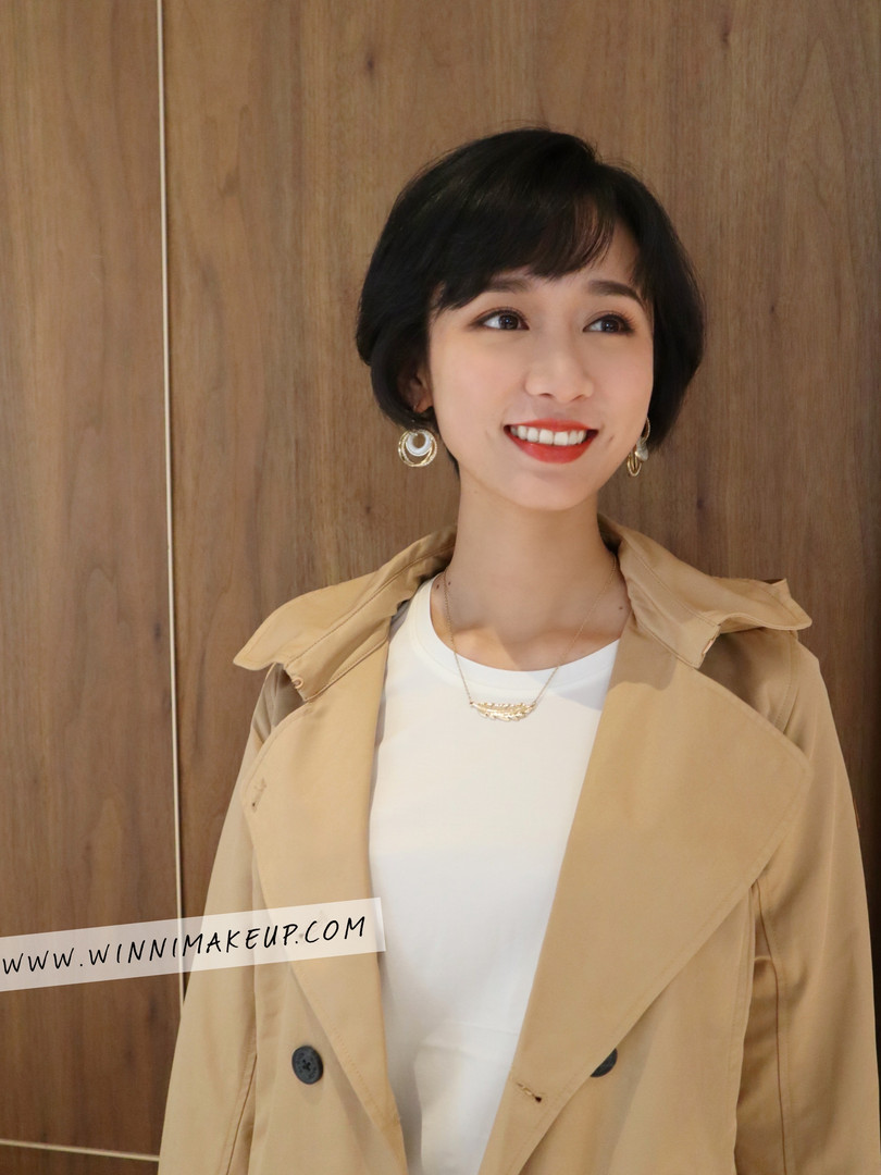 #短髮女生 #短髮造型 #廣告妝髮造型 #日系鮑伯短髮 #網拍妝髮造型