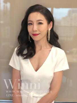 名媛活動妝髮造型