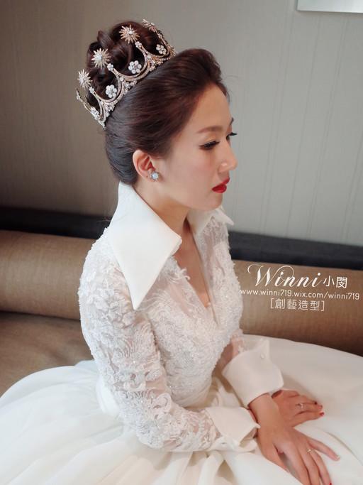 白紗新娘造型-大皇冠