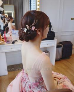 #新娘造型  #盤髮造型 #韓系新娘妝髮 #氣質新娘 #唯美 #甜美