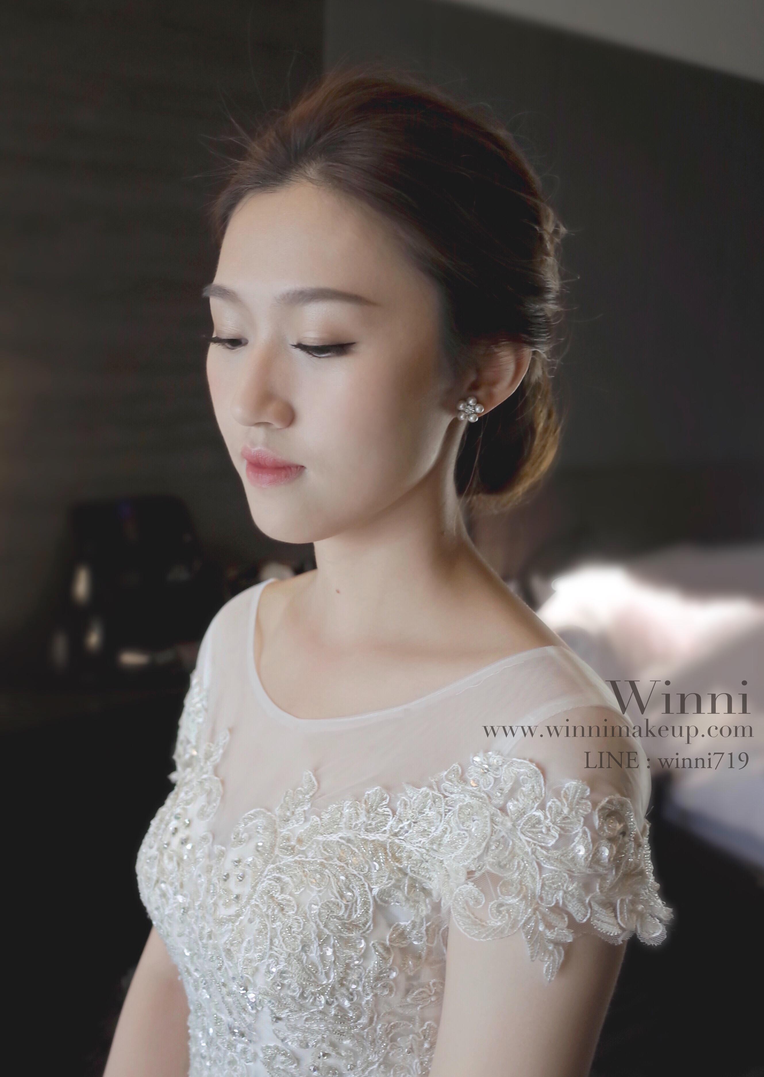 #質感妝容 #新娘妝 #漂亮眉型
