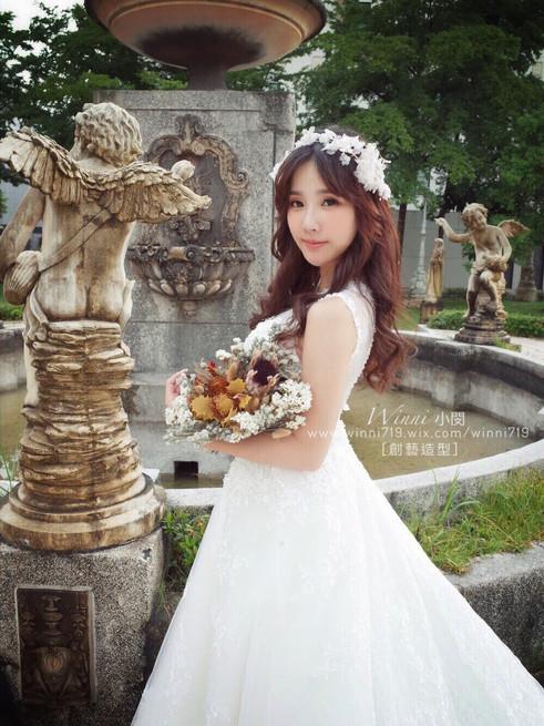 自助婚紗白紗造型